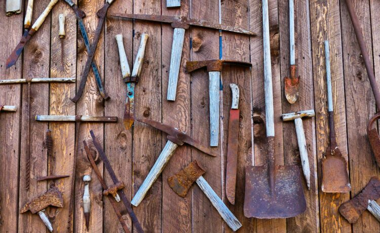 Rusted Tools